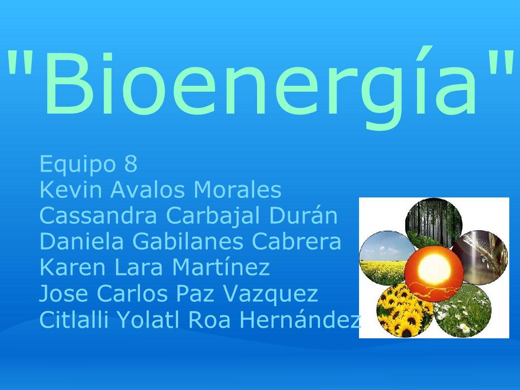 ¿Qué es la bioenergía.La bioenergía es la energía renovable obtenida de materiales biológicos.