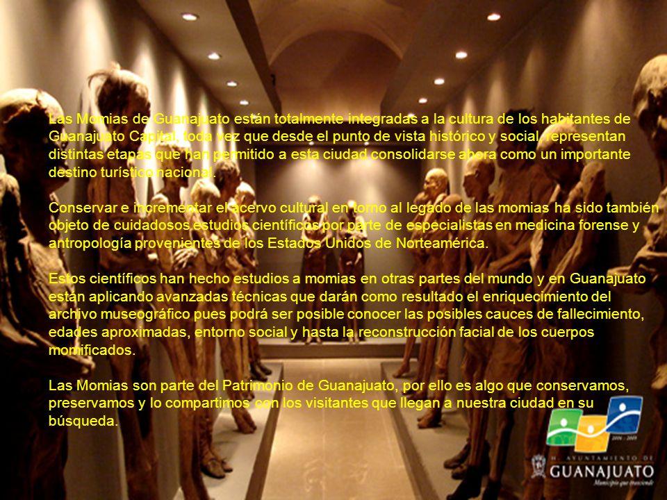 Con casi 150 años de historia, las Momias de Guanajuato se han convertido en parte de nuestra propia cultura y de nuestras tradiciones como pueblo ase