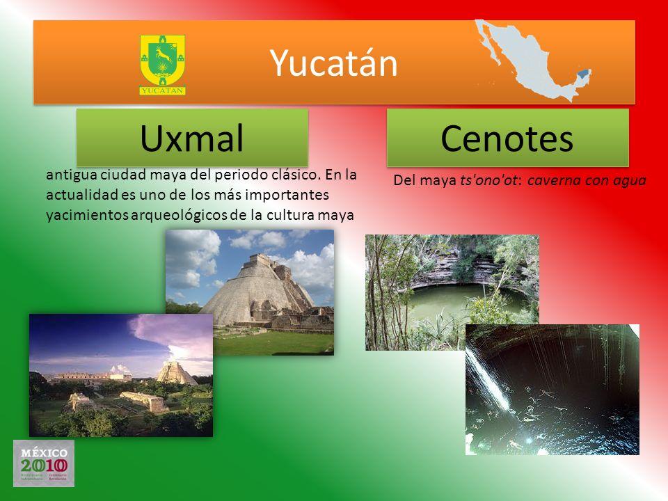Yucatán Uxmal Cenotes antigua ciudad maya del periodo clásico. En la actualidad es uno de los más importantes yacimientos arqueológicos de la cultura