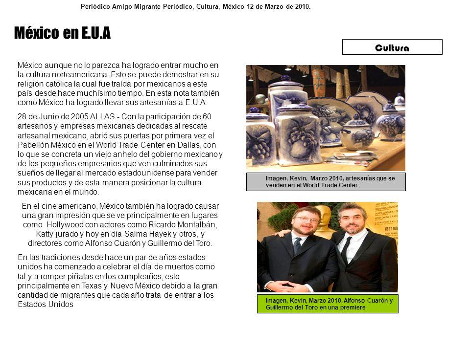Imagen, Kevin, Marzo 2010, artesanías que se venden en el World Trade Center Cultura México aunque no lo parezca ha logrado entrar mucho en la cultura