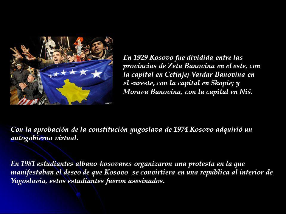 Se realizaron elecciones extraoficiales en 1992 que eligieron de manera abrumadora a Ibrahim Rugova como presidente de una autoproclamada República de Kosovo; sin embargo, éstas no fueron reconocidas por ningún gobierno extranjero.