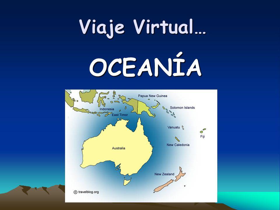Viaje Virtual… OCEANÍA