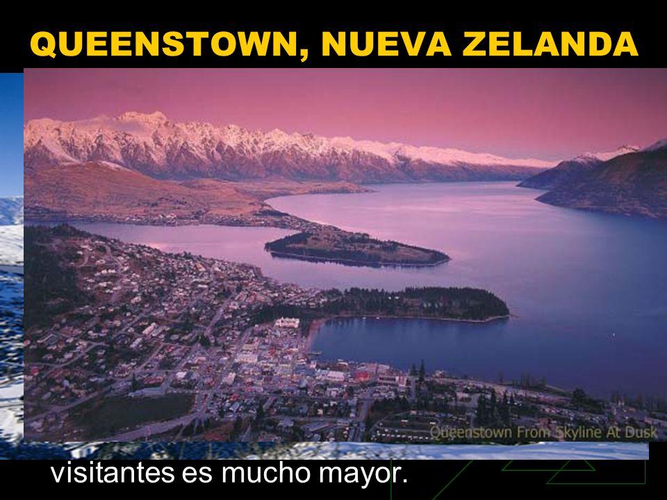 QUEENSTOWN, NUEVA ZELANDA En el centro de la región de Otago, en Nueva Zelanda empieza una nueva aventura. Montañas espectaculares, lagos y un montón