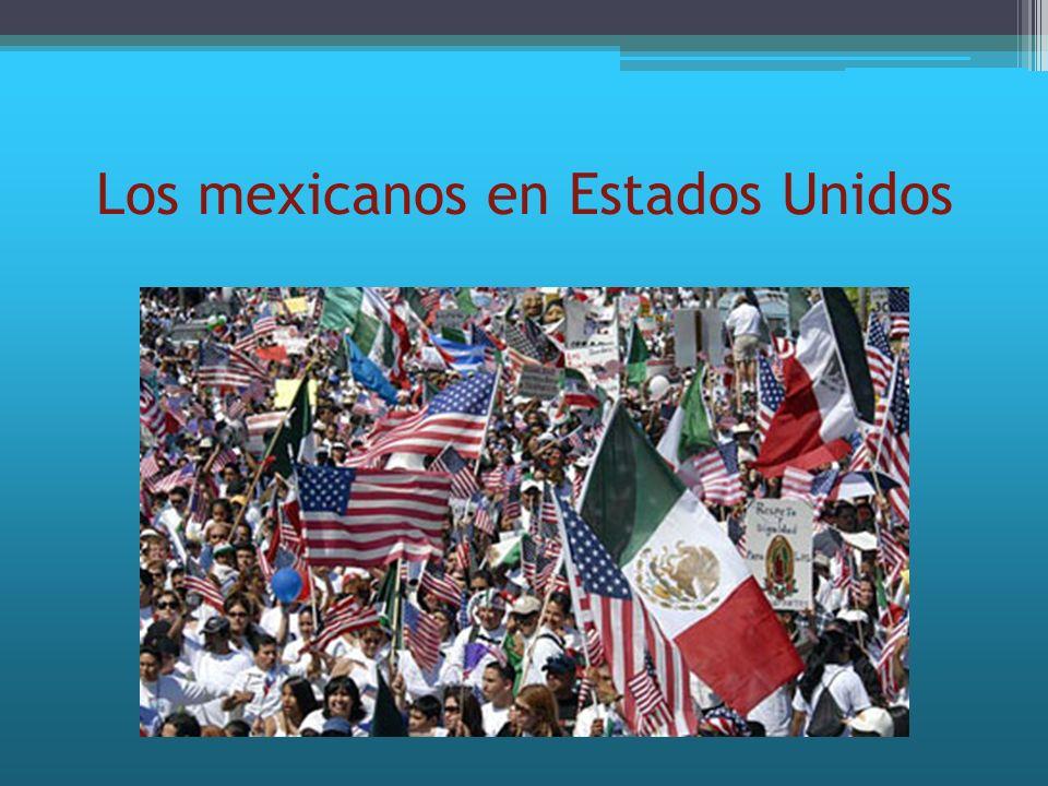 Estatus económico Mas del 25% de las familias mexicanas inmigrantes vive con un ingreso anual por debajo de la línea de pobreza federal (10,488 dólares para un adulto soltero y 20,444 dólares para una pareja con dos hijos en 2006).