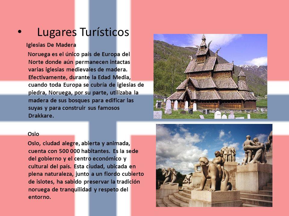 Lugares Turísticos Iglesias De Madera Noruega es el único país de Europa del Norte donde aún permanecen intactas varias iglesias medievales de madera.