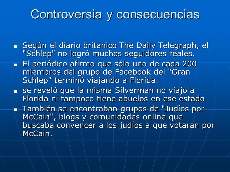 Controversia y consecuencias Según el diario británico The Daily Telegraph, el