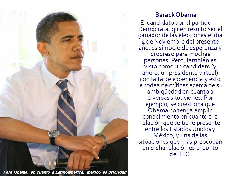 Barack Obama El candidato por el partido Demócrata, quien resultó ser el ganador de las elecciones el día 4 de Noviembre del presente año, es símbolo