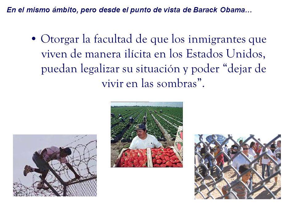 Promover el desarrollo económico y laboral (sobre todo en el campo) en nuestro país; para así impulsar el empleo en México creando oportunidades para los mexicanos en suelo mexicano y de esta forma, disminuir los movimientos migratorios ilegales.