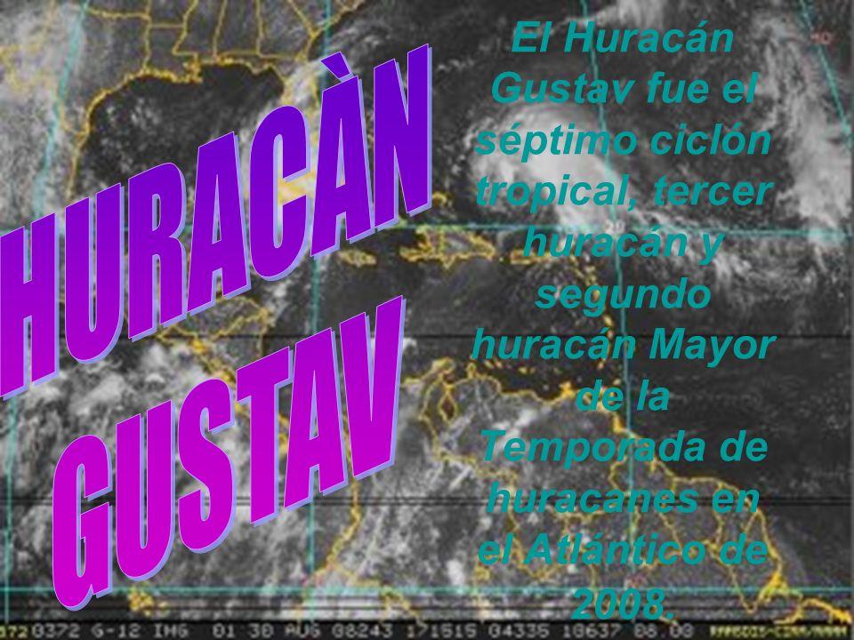 El Huracán Gustav fue el séptimo ciclón tropical, tercer huracán y segundo huracán Mayor de la Temporada de huracanes en el Atlántico de 2008.