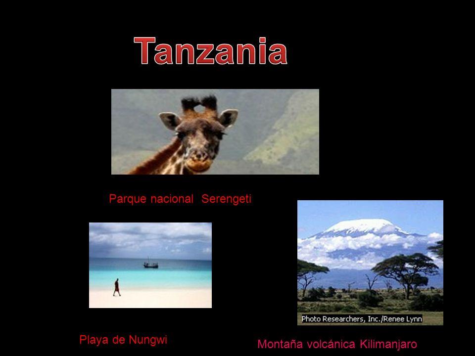 Parque nacional Serengeti Playa de Nungwie Montaña volcánica Kilimanjaro
