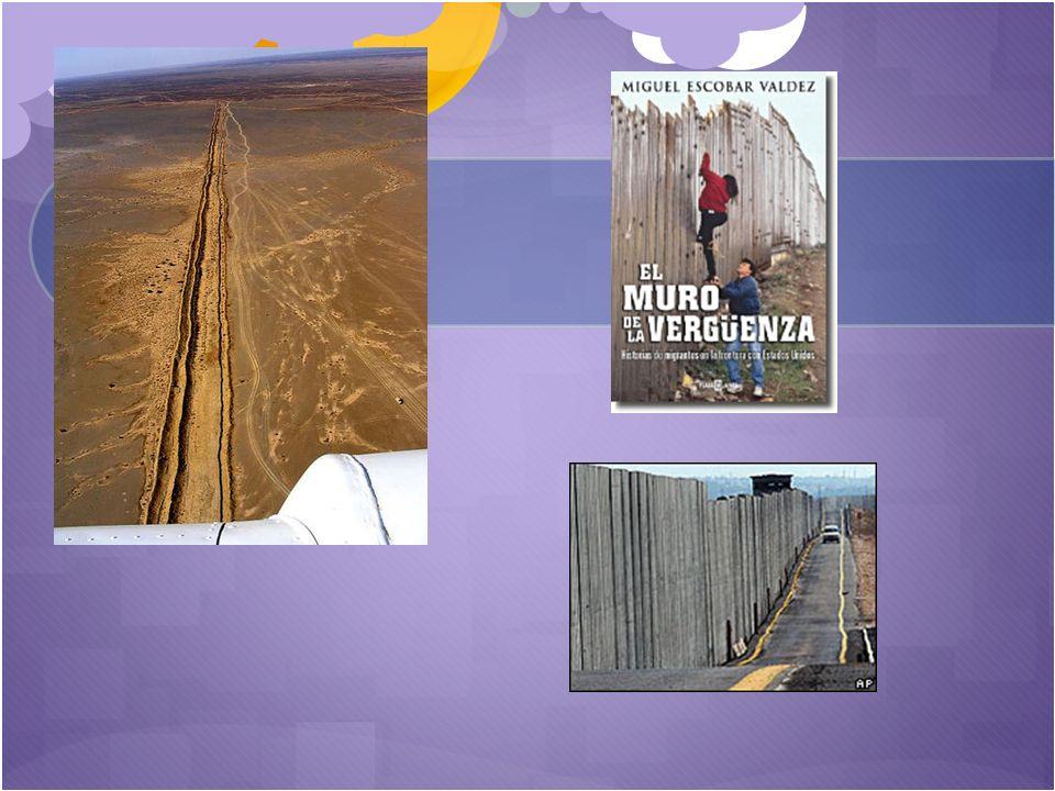 El Muro fronterizo EE. UU.–México es una muralla física construida por Estados Unidos en su frontera con México. Su objetivo es impedir la entrada de
