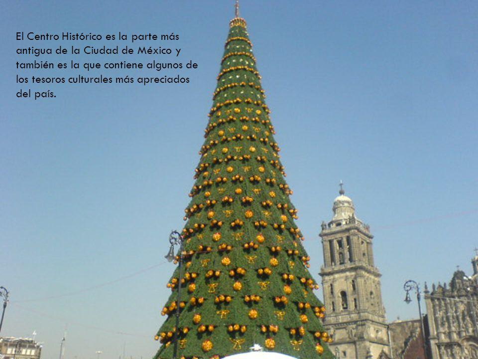 El Centro Histórico es la parte más antigua de la Ciudad de México y también es la que contiene algunos de los tesoros culturales más apreciados del p