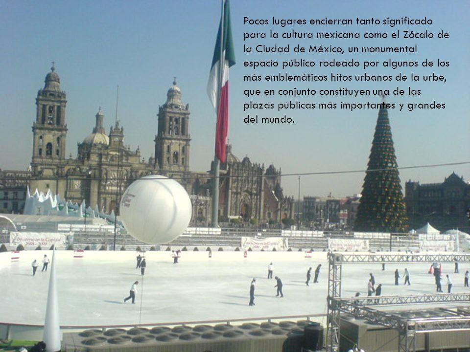 Pocos lugares encierran tanto significado para la cultura mexicana como el Zócalo de la Ciudad de México, un monumental espacio público rodeado por al