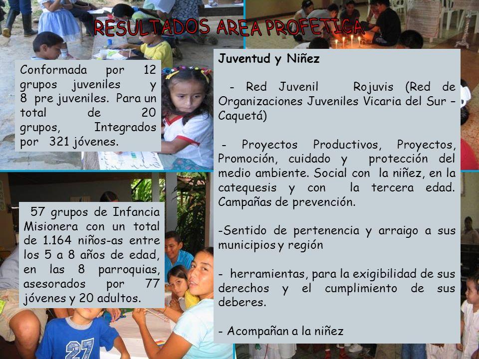 Juventud y Niñez - Red Juvenil Rojuvis (Red de Organizaciones Juveniles Vicaria del Sur – Caquetá) - Proyectos Productivos, Proyectos, Promoción, cuid