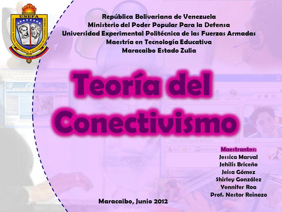 Maracaibo, Junio 2012 República Bolivariana de Venezuela Ministerio del Poder Popular Para la Defensa Universidad Experimental Politécnica de las Fuer