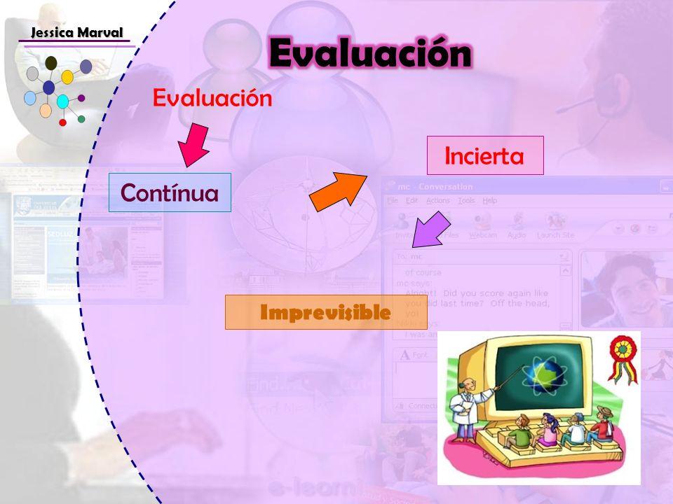 Jessica Marval Contínua Incierta Imprevisible Evaluación