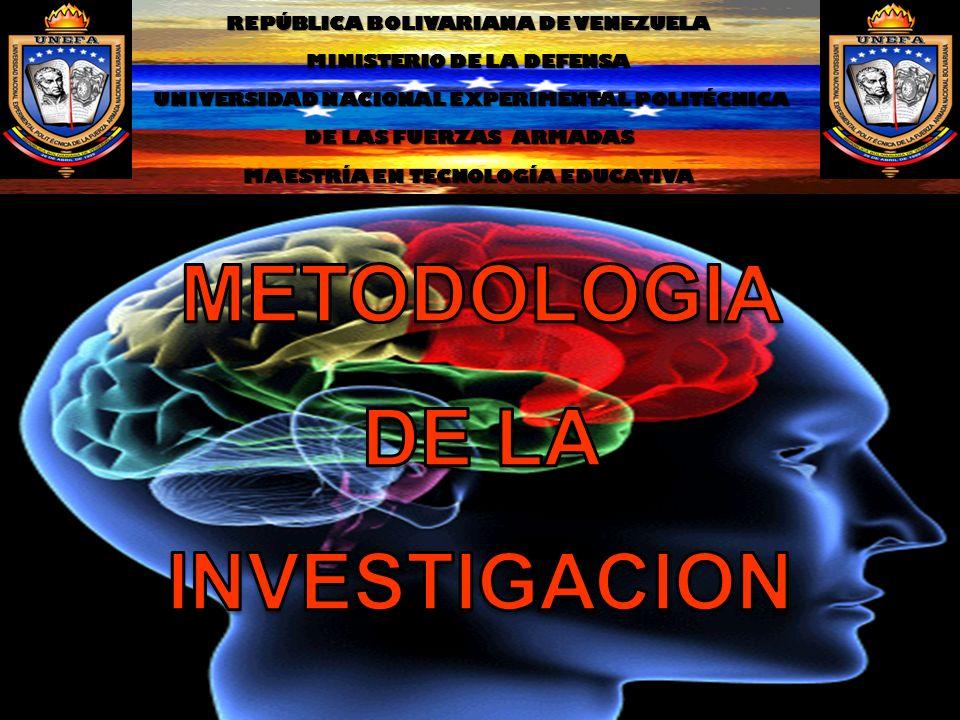 REPÚBLICA BOLIVARIANA DE VENEZUELA MINISTERIO DE LA DEFENSA UNIVERSIDAD NACIONAL EXPERIMENTAL POLITÉCNICA UNIVERSIDAD NACIONAL EXPERIMENTAL POLITÉCNIC