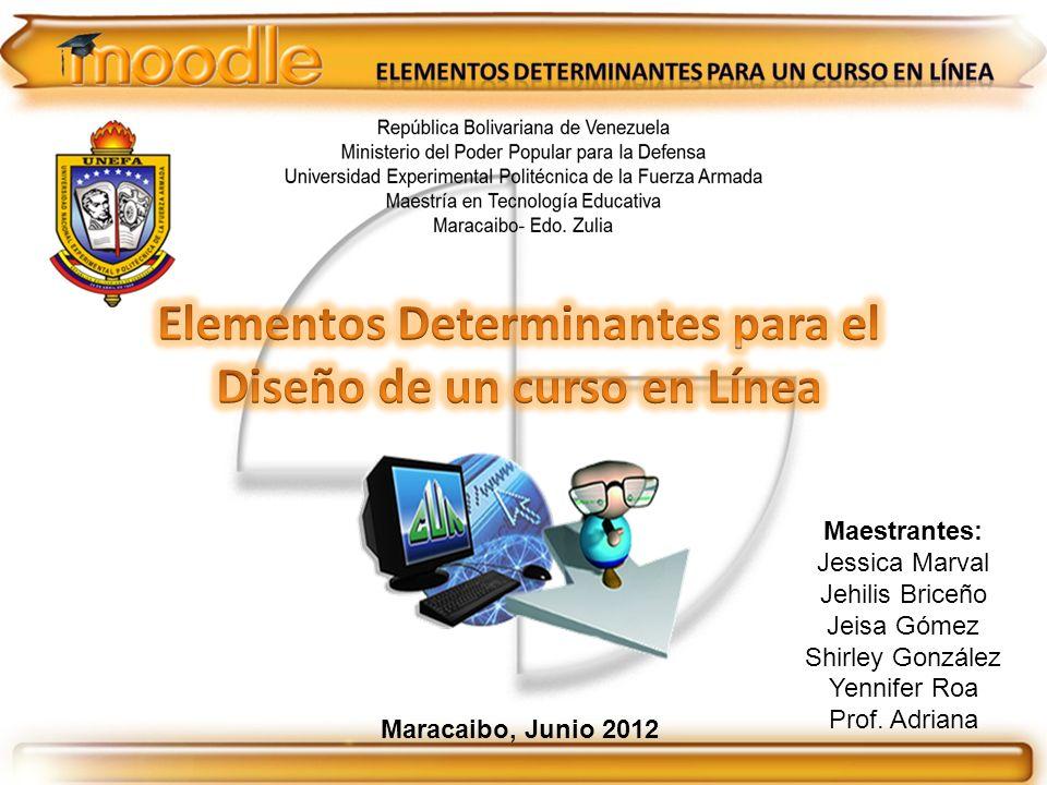 Maestrantes: Jessica Marval Jehilis Briceño Jeisa Gómez Shirley González Yennifer Roa Prof. Adriana Maracaibo, Junio 2012