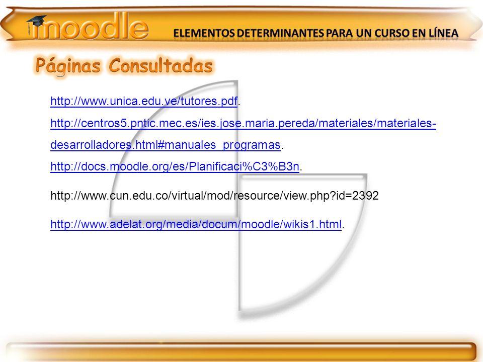 http://www.unica.edu.ve/tutores.pdfhttp://www.unica.edu.ve/tutores.pdf. http://centros5.pntic.mec.es/ies.jose.maria.pereda/materiales/materiales- desa