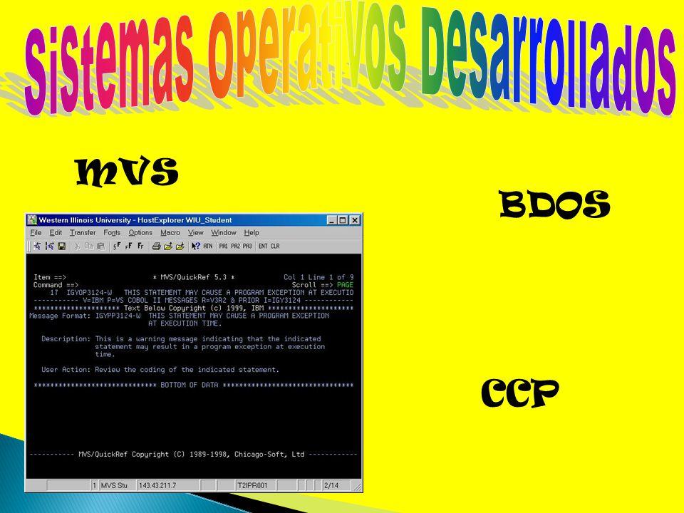 MVS CCP BDOS