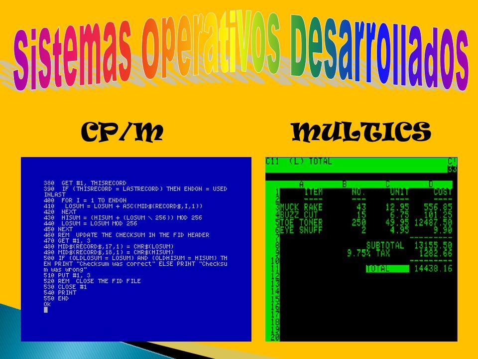 CP/MMULTICS