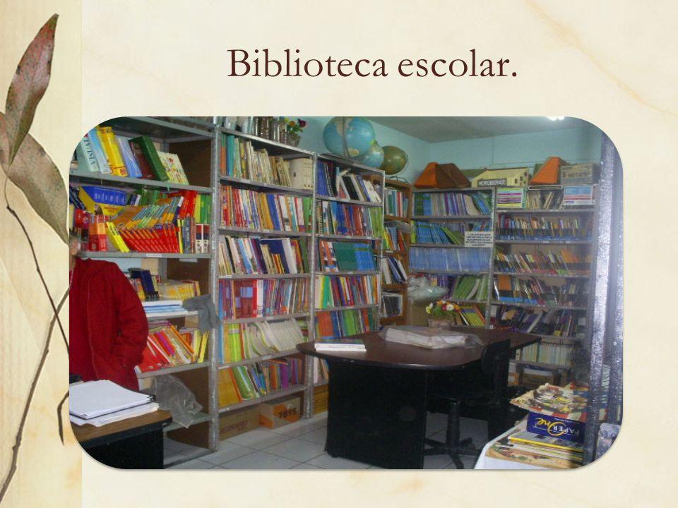 Biblioteca escolar.