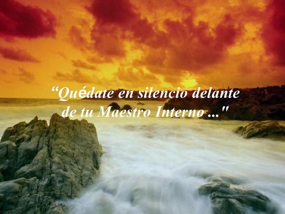 El Señor está aquí y te llama... te ama y te espera... escúchale en lo más profundo de tu ser...