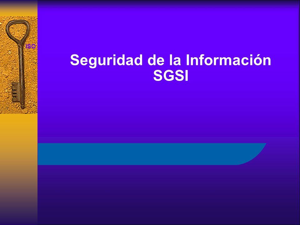 ISO 27001 Seguridad de la Información SGSI