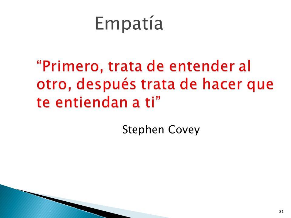 Stephen Covey Empatía 31