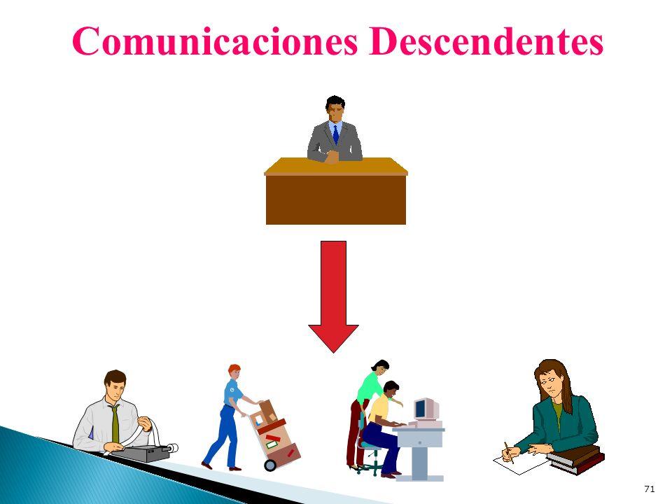 Comunicaciones Descendentes 71