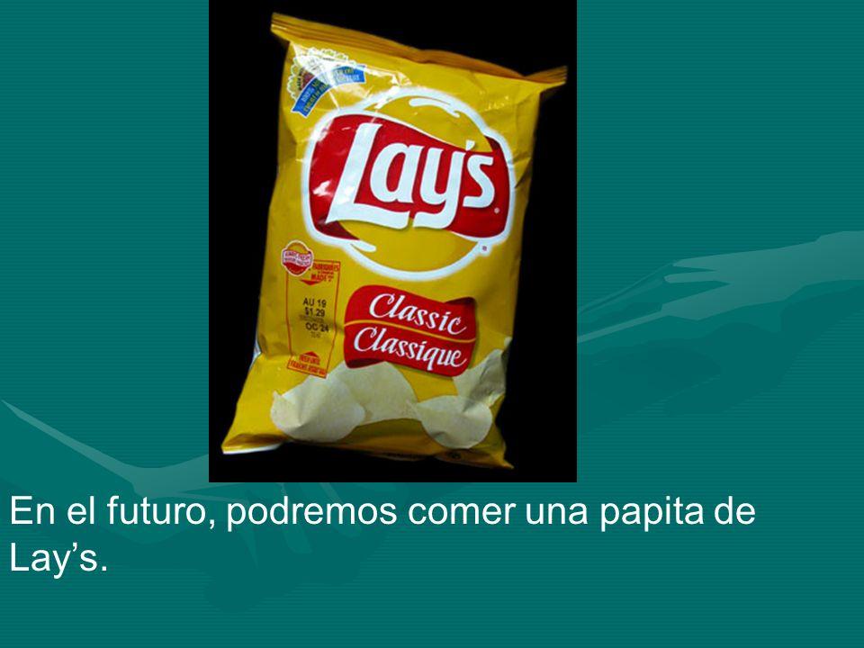 En el futuro, podremos comer una papita de Lays.