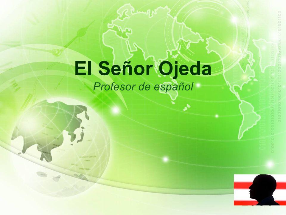 LOGO El Señor Ojeda Profesor de español