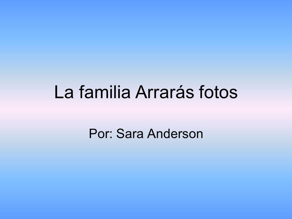 La familia Arrarás fotos Por: Sara Anderson