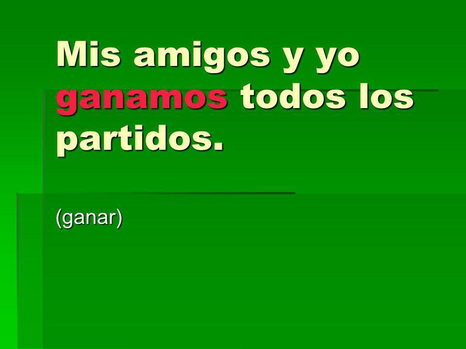 Yo traduzco al español cuando conduzco en mi carro con hispanohablantes.