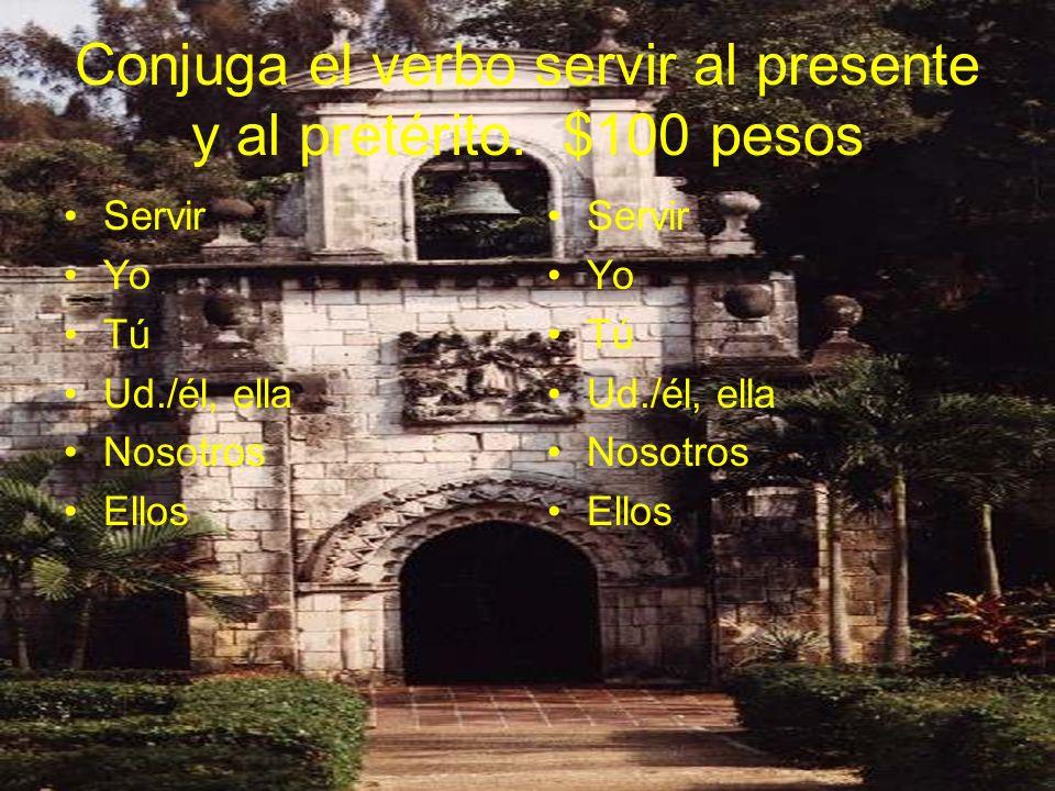Adjetivos demonstrativos Escribe el español.