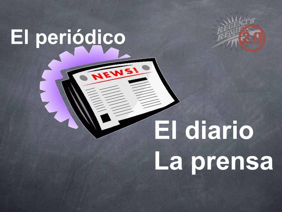 El periódico El diario La prensa