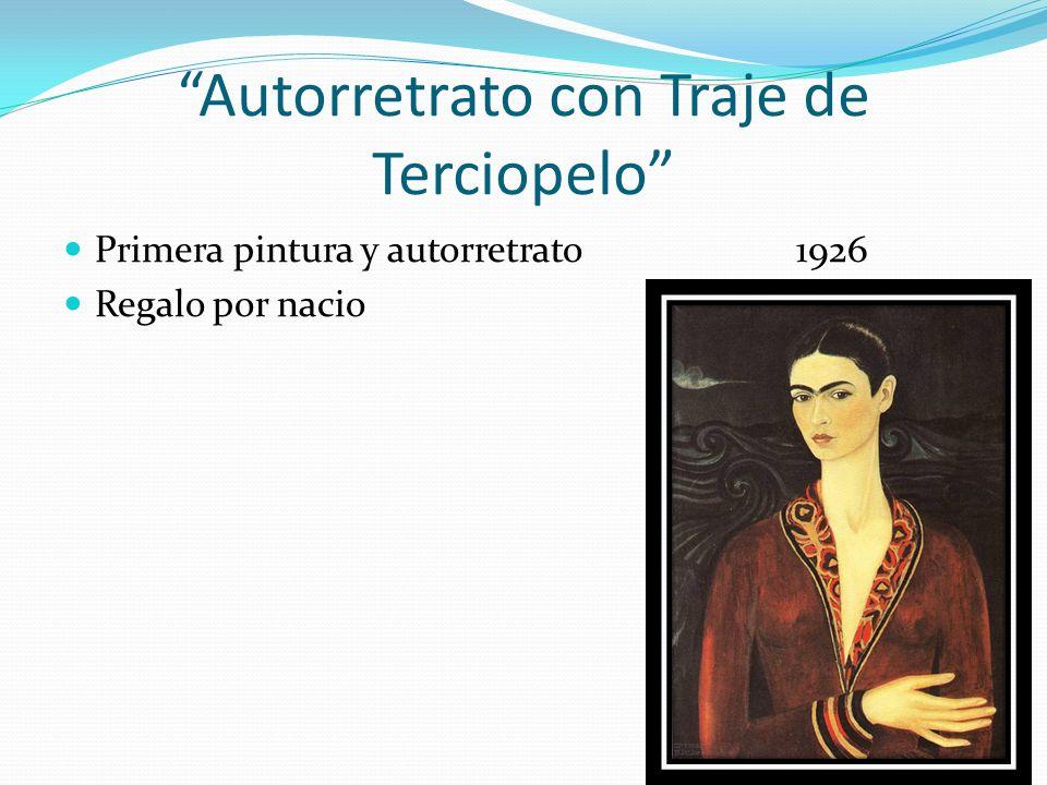 Autorretrato con Traje de Terciopelo Primera pintura y autorretrato1926 Regalo por nacio