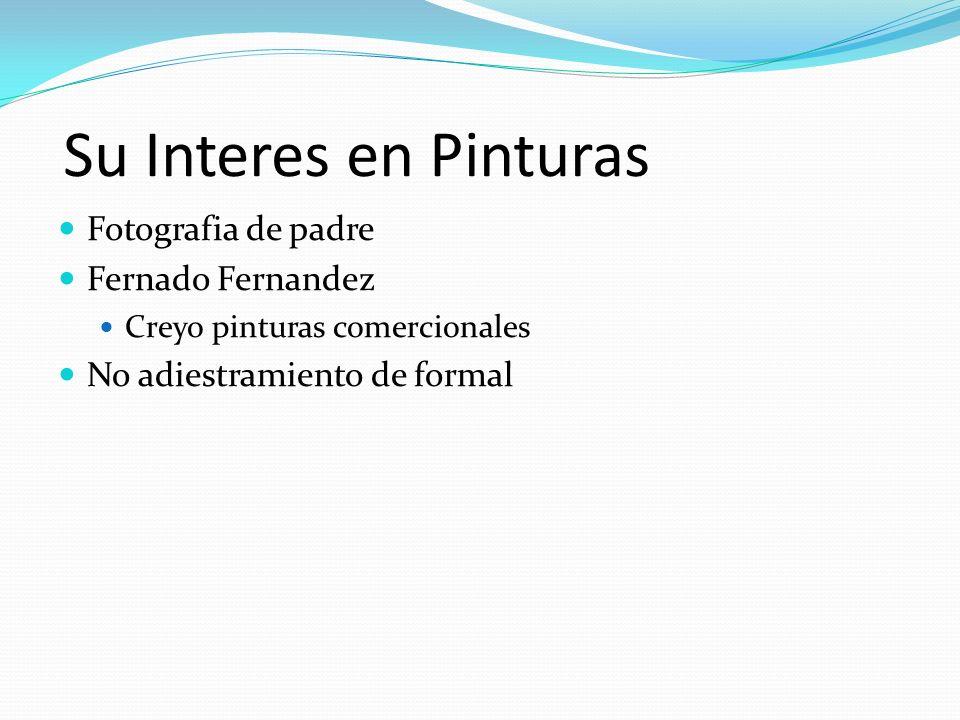 Su Interes en Pinturas Fotografia de padre Fernado Fernandez Creyo pinturas comercionales No adiestramiento de formal