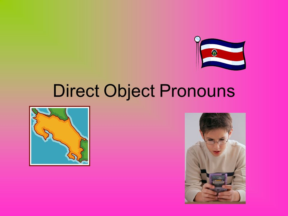 A direct object is the person or thing in a sentence that receives the action of the verb.