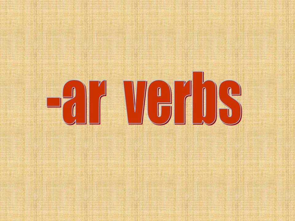Compare and contrast the conjugated verbs below.escucho Yo escucho a la radio.