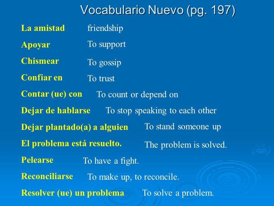 Vocabulario Nuevo (pg.