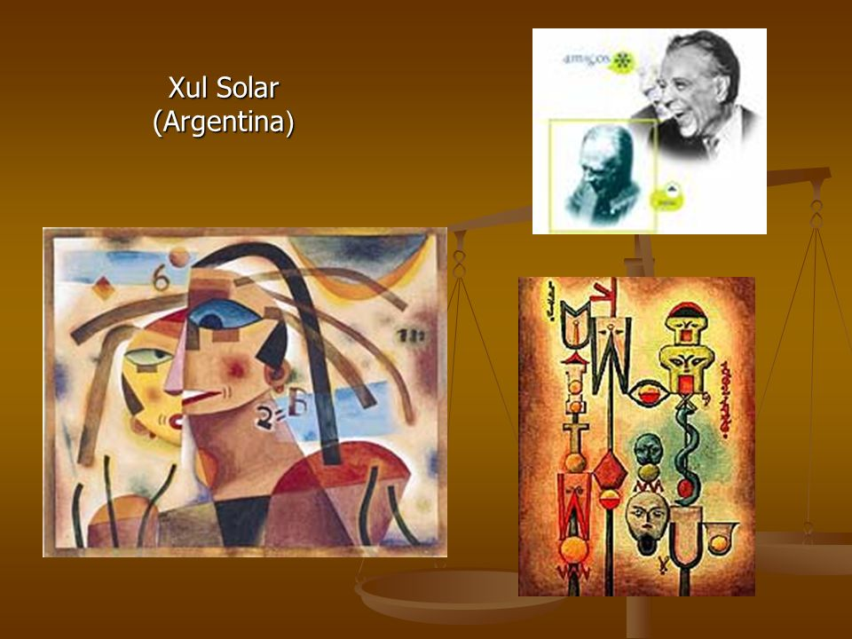 Xul Solar (Argentina )