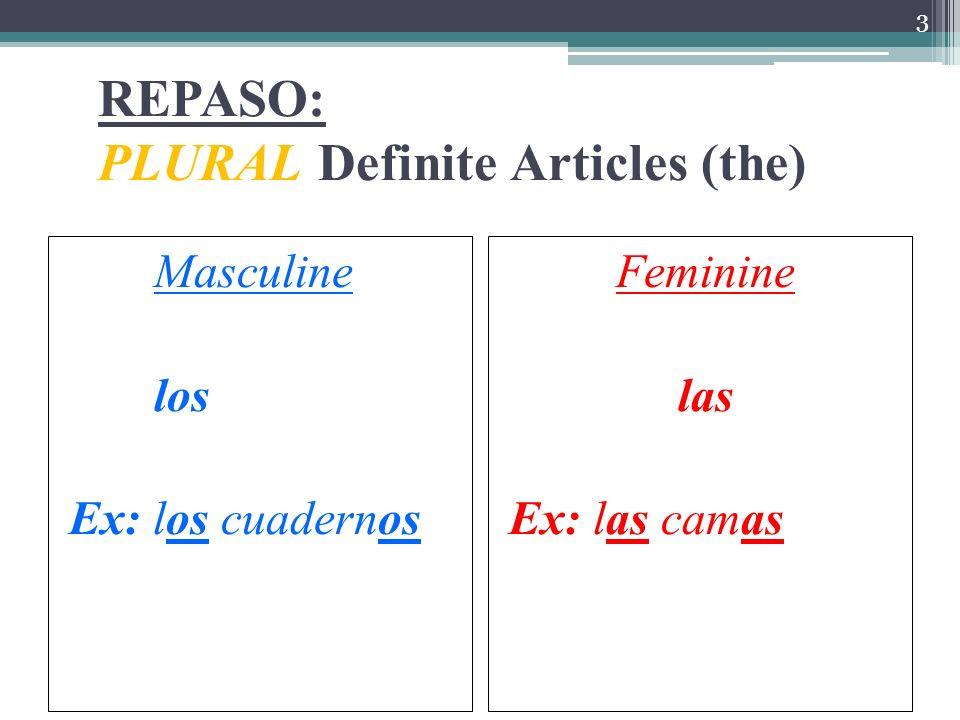 Chapter 3 ¿Qué materias estudias? What subjects do you study?