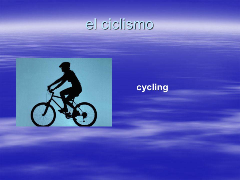 el ciclismo cycling