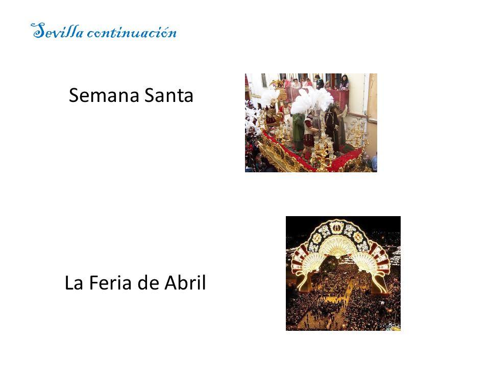 Sevilla continuación Semana Santa La Feria de Abril