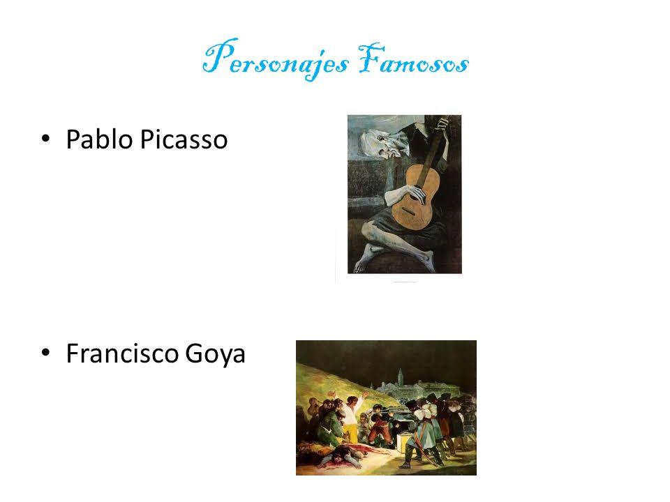 Personajes Famosos Pablo Picasso Francisco Goya