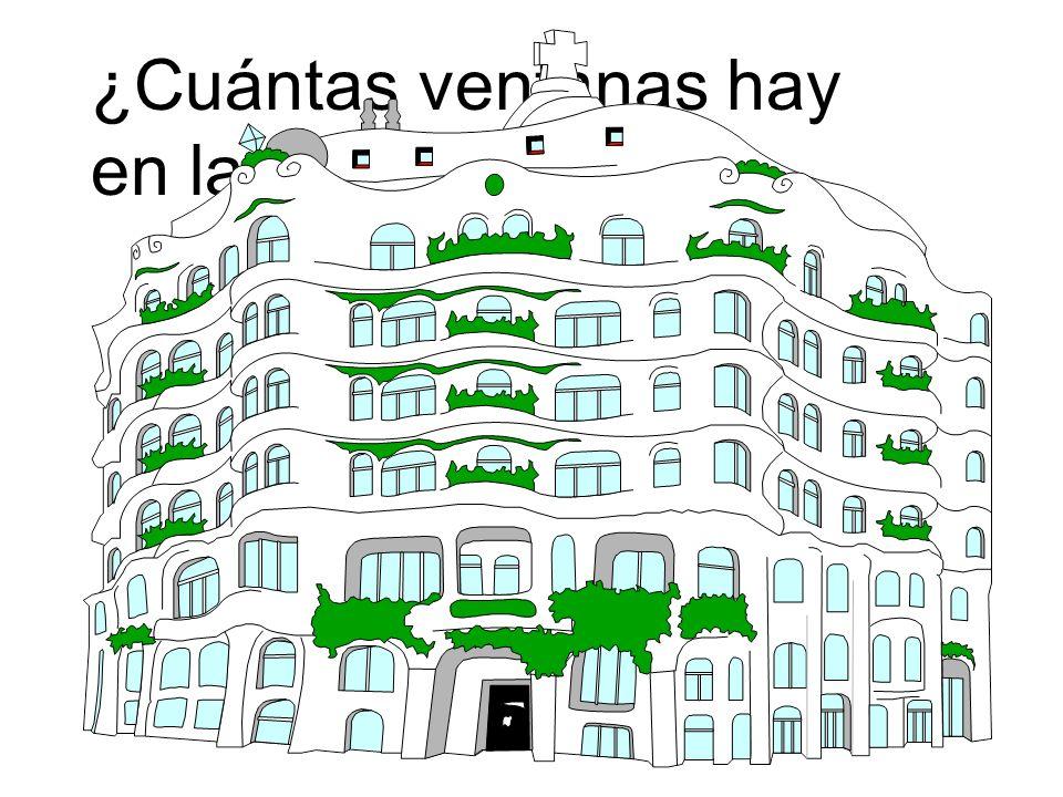 ¿Cuántas ventanas hay en la casa? ¡Ay, carumba! ¡muchas ventanas! ¡Ay, carumba! ¡muchas ventanas!