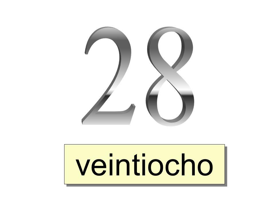 veintiocho