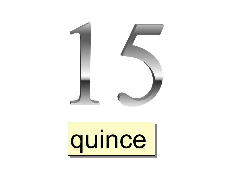 dieciseis