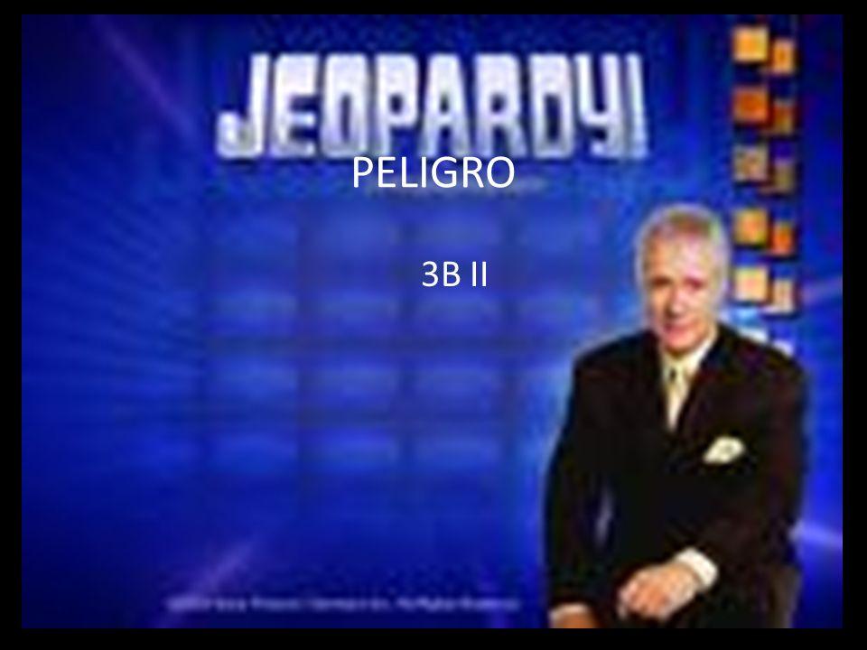 PELIGRO 3B II